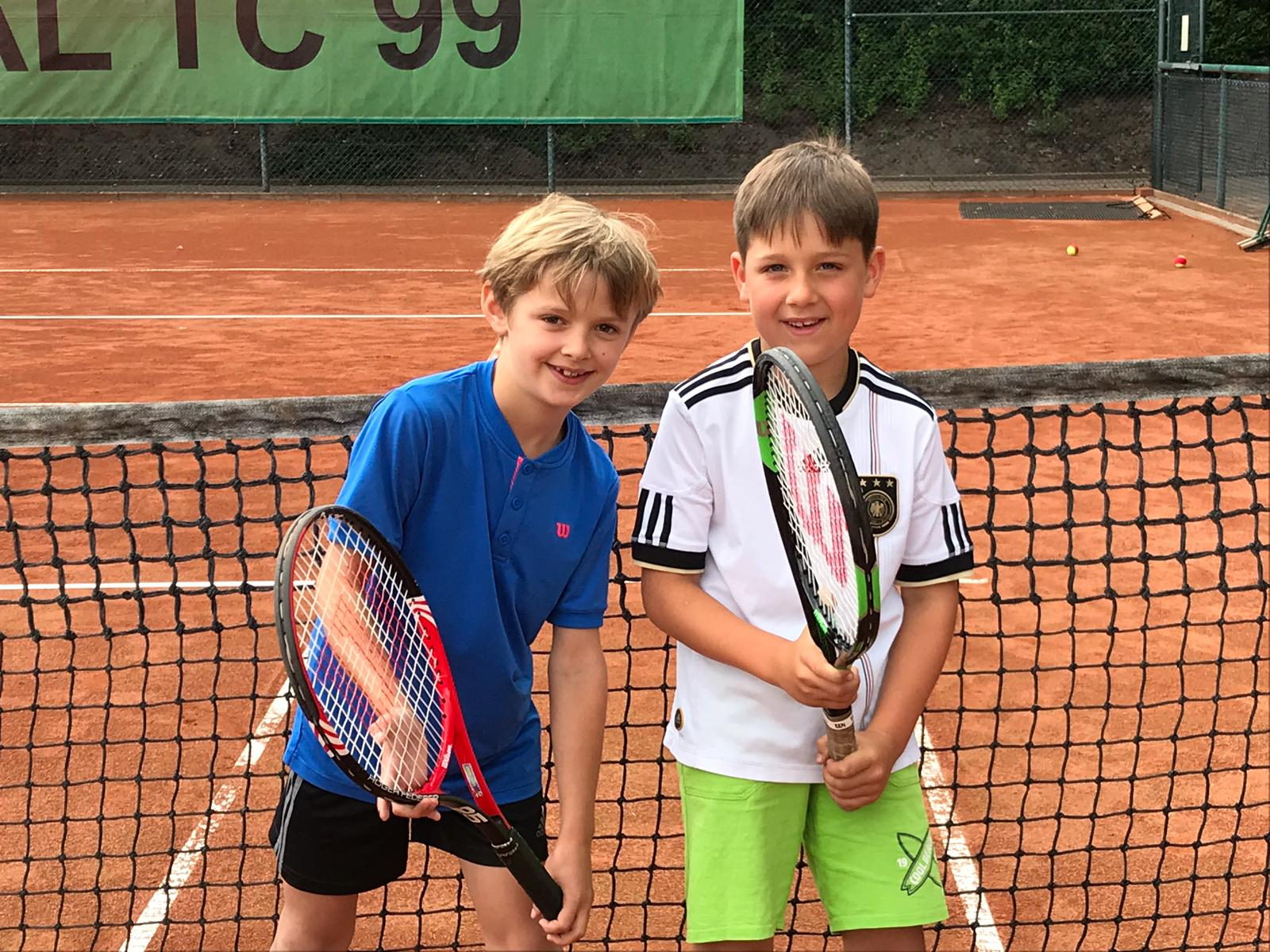 TC BW Kleinfeld Jungen  Jonte Mysegaes/Lasse Kubica Staffelsieger