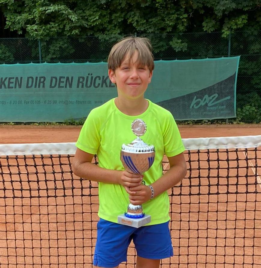 Jonte Mysegaes gewinnt Orange-Cup in Barsinghausen