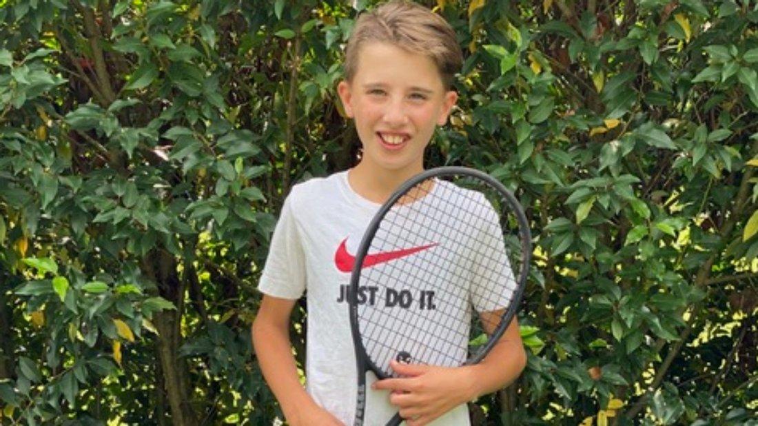 "Team um Delmenhorster Tennis-Talent Linus Heubach erreicht ""Final Four"""