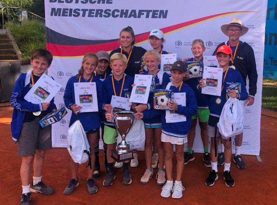 Linus Heubach mit TNB-Team DTB-Talentcup Sieger 2021